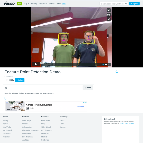 Feature Point Detection Demo