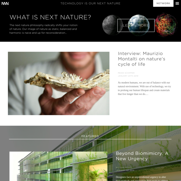 Home | Next Nature Network