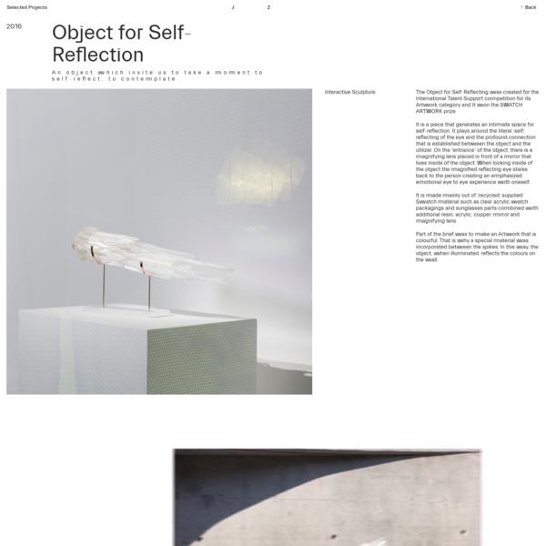 Jana Zornik   Object for Self-Reflection