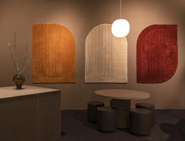 Ogeborg carpets featured at Stockholm Design Week 2019