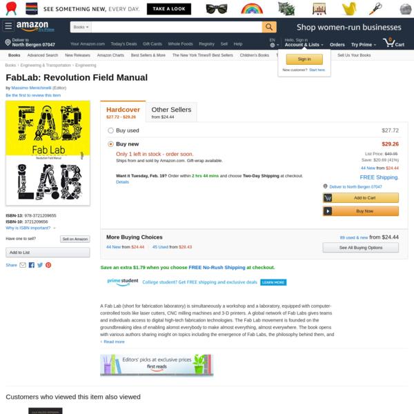 FabLab: Revolution Field Manual