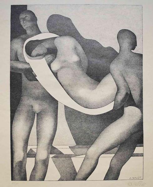Aldolfo Wildt - Deposition (1929)