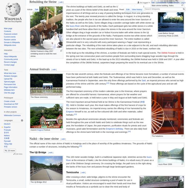 Ise Grand Shrine - Wikipedia