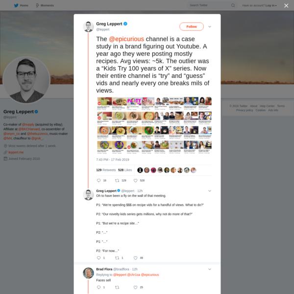 Greg Leppert on Twitter