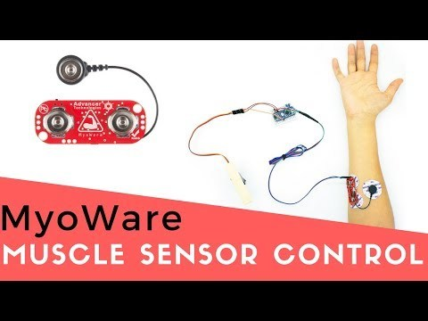 Use your muscles to control anything with Arduino! MyoWare Muscle Sensor