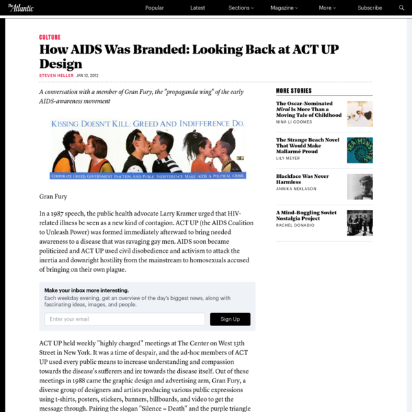 How AIDS Was Branded: Looking Back at ACT UP Design