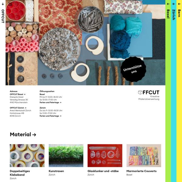 OFFCUT - Kreative Materialverwertung