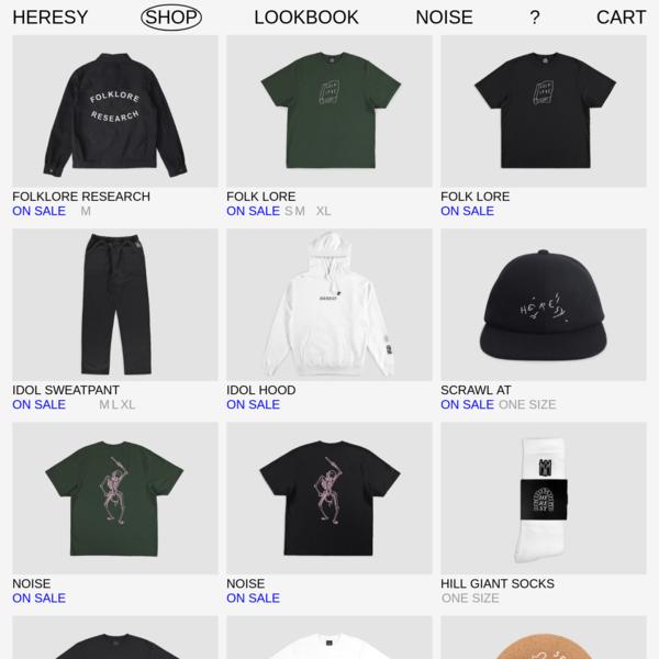 Shop - Heresy