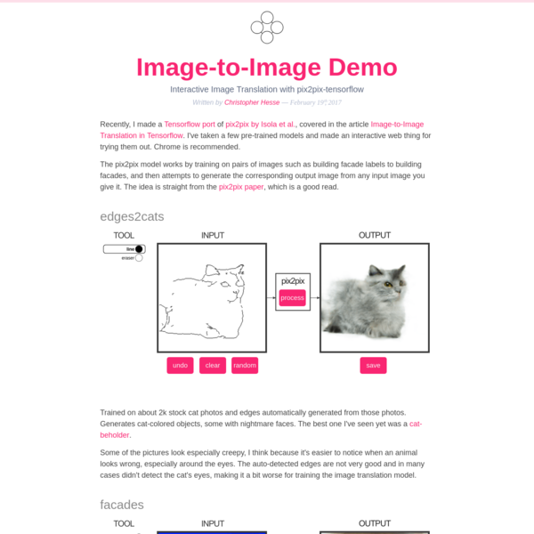 Image-to-Image Demo - Affine Layer