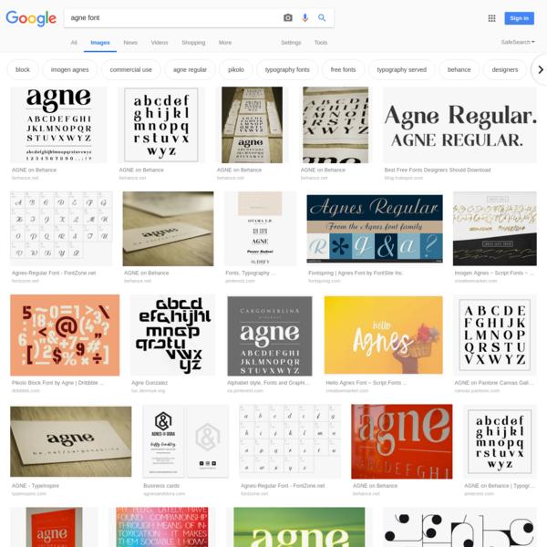 agne font - Google Search