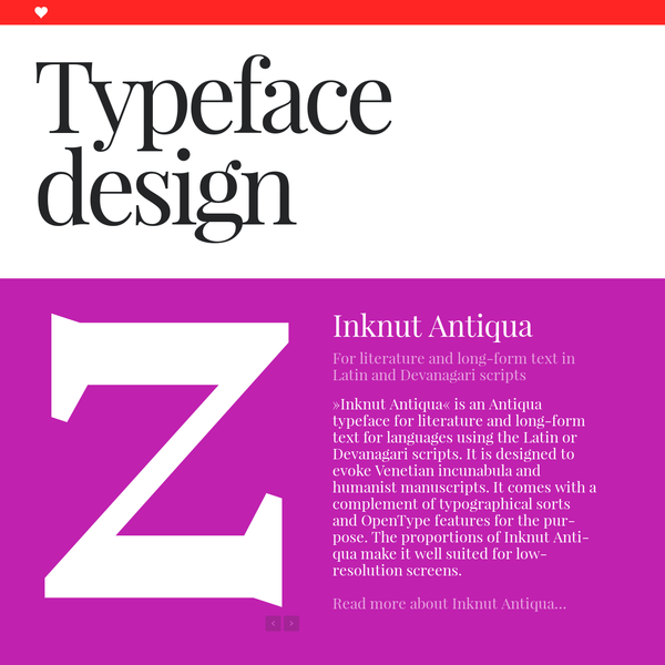 Format is a wel­com­ing human­ist sans serif with lots of quirky design fea­tures to add interest and mem­or­ab­il­ity to any design. With its one hun­dred and thirty three fonts, many altern­at­ive let­ter­shapes and dia­crit­ical marks, Format is a highly flex­ible fam­ily.