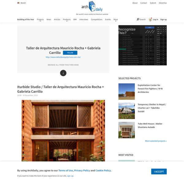 Taller de Arquitectura Mauricio Rocha + Gabriela Carrillo | Office | ArchDaily
