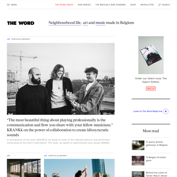 The Word Magazine - Neighbourhood living, music, photography, fashion and art
