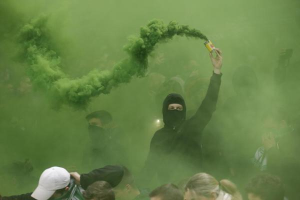 Ultras at Geoffroy-Guichard