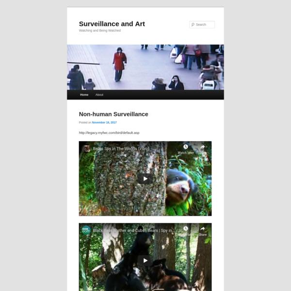 Surveillance and Art