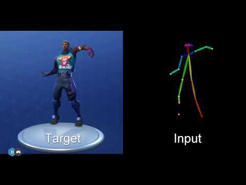 In this video I'll cover how we can use Pose Estimation and Conditional GANs to create and visualize new Fortnite dances from nothing but a webcam recording. Code for pose estimation: https://github.com/anatolix/keras_Realtime_Multi-Person_Pose_Estimation Code for Image generation with pix2pix https://github.com/junyanz/pytorch-CycleGAN-and-pix2pix Dance moves/music credits: itsMRich https://www.youtube.com/watch?v=Cgw4EgeR960&t=270s