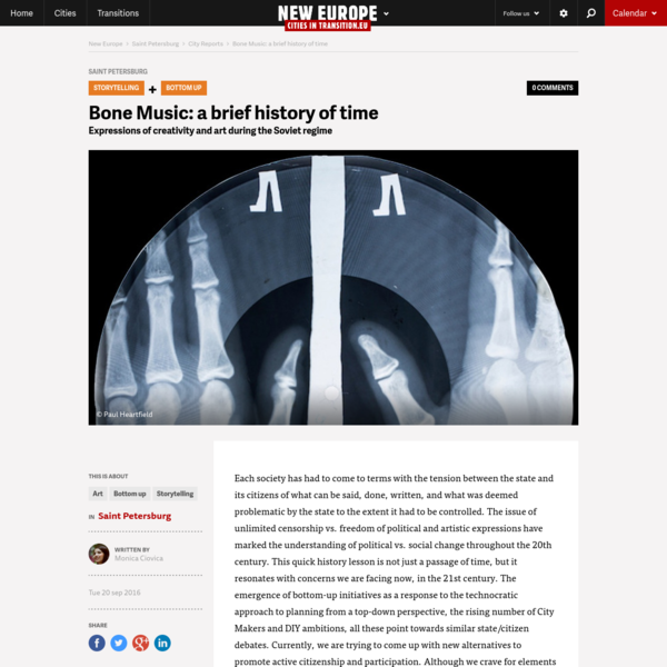 Bone Music: a brief history of time