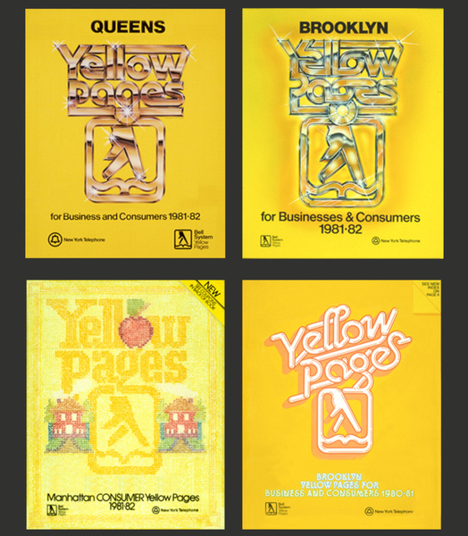 Early 80s Yellow Pages