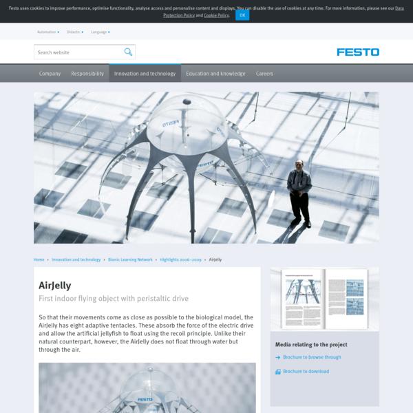AirJelly | Festo Corporate