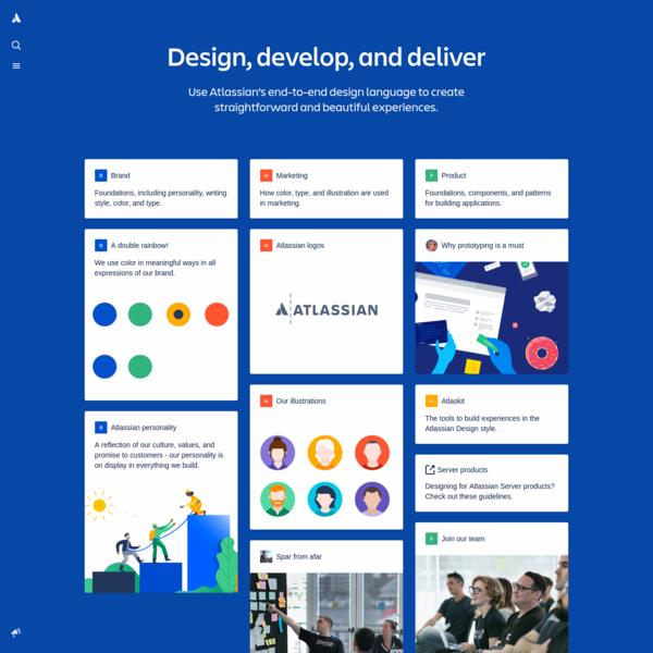 Atlassian Design Guidelines | Atlassian Design