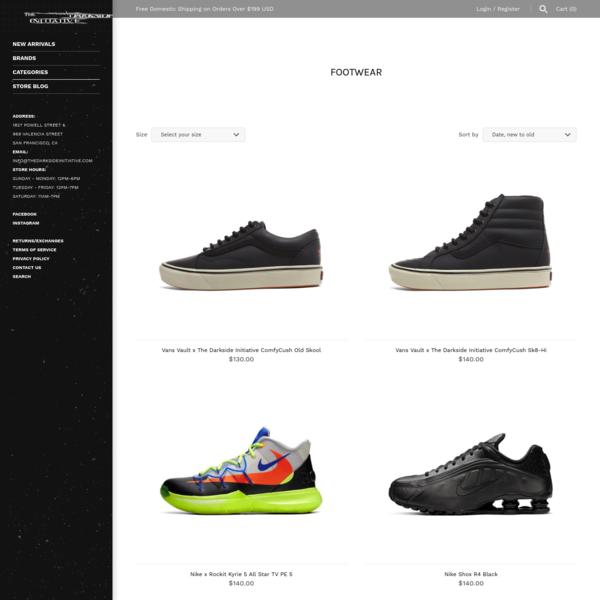 Footwear - The Darkside Initiative