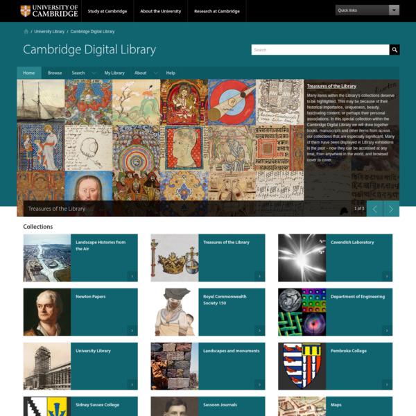 Cambridge Digital Library - University of Cambridge