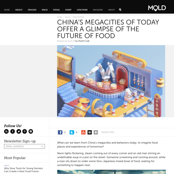 China's Megacities of Today Offer a Glimpse of the Future of Food