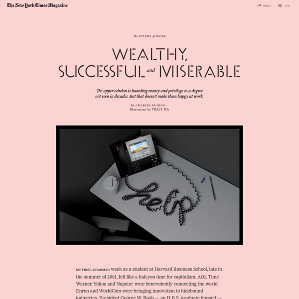 America's Professional Elite: Wealthy, Successful and Miserable