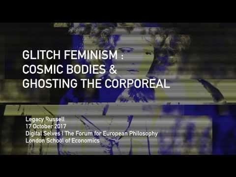 """Glitch Feminism: Cosmic Bodies & Ghosting the Corporeal From 'Digital Selves' at the Forum. More information and full recording: http://blogs.lse.ac.uk/theforum/digital-selves/ CREDITS Music: - """"Tonight"""" (2017) by Mhysa - """"Pink + White"""" (2016) by Frank Ocean Excerpts: - """"Giovanni's Room"""" (1956) by James Baldwin - """"One Poem"""" (2015) by Anaïs Duplan Artworks: """"These are the axes"""" (2012) by Mark Aghuar """"#mood 1"""" (2015) by E."""