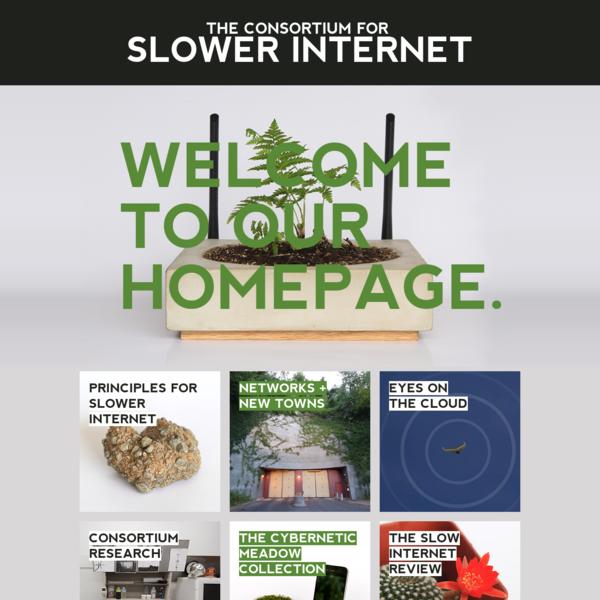 The Consortium for Slower Internet