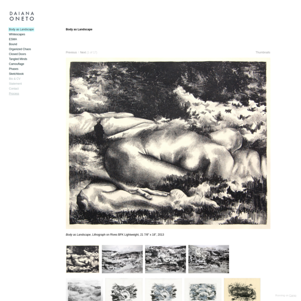 Body as Landscape - Daiana Oneto