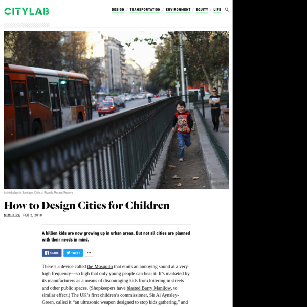 What Does a Child-Friendly City Look Like?