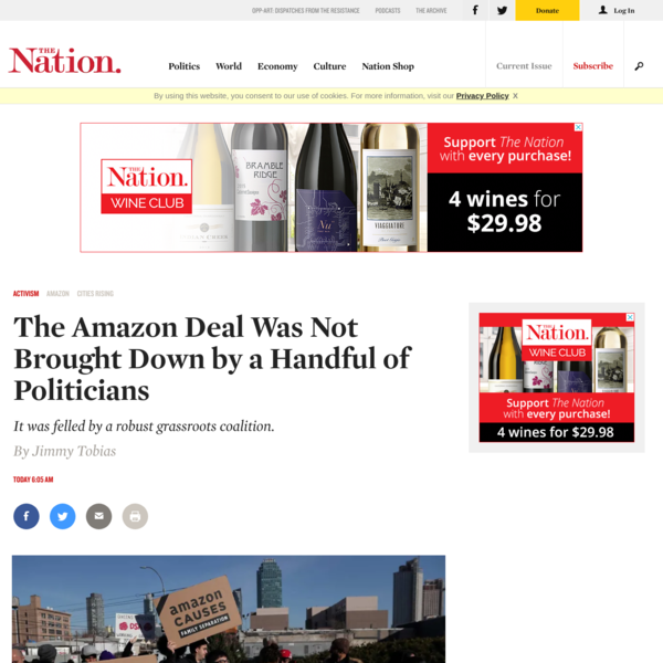 The Amazon Deal Was Not Brought Down by a Handful of Politicians