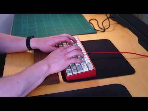 OTD 356 mini v1 typing sounds (Vintage MX Black)