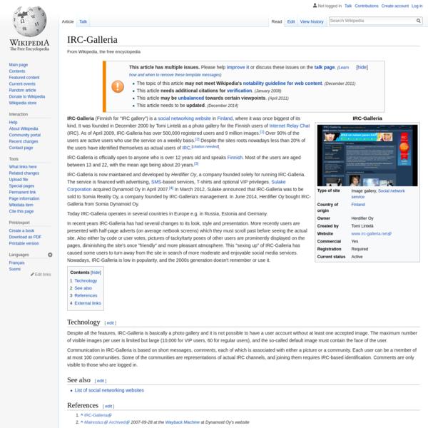 IRC-Galleria - Wikipedia