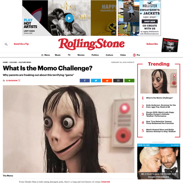 What Is the Momo Challenge?