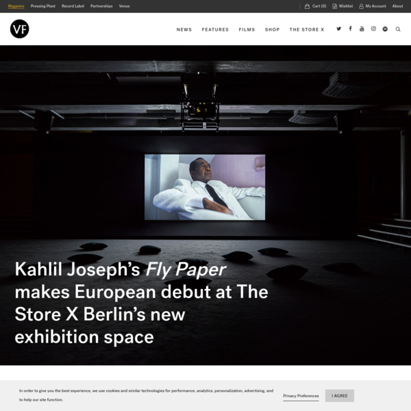 Kahlil Joseph's Fly Paper makes European debut at The Store X Berlin's new exhibition space