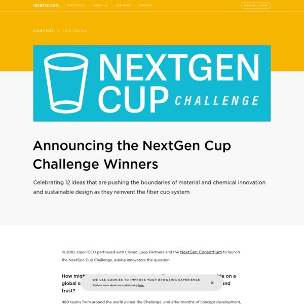 AnnouncingtheNextGen CupChallenge Winners