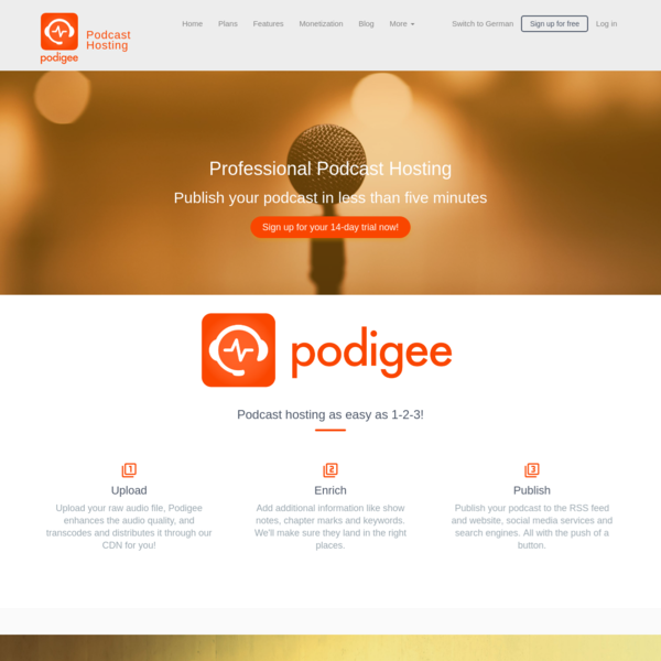 Podcast Host Podigee