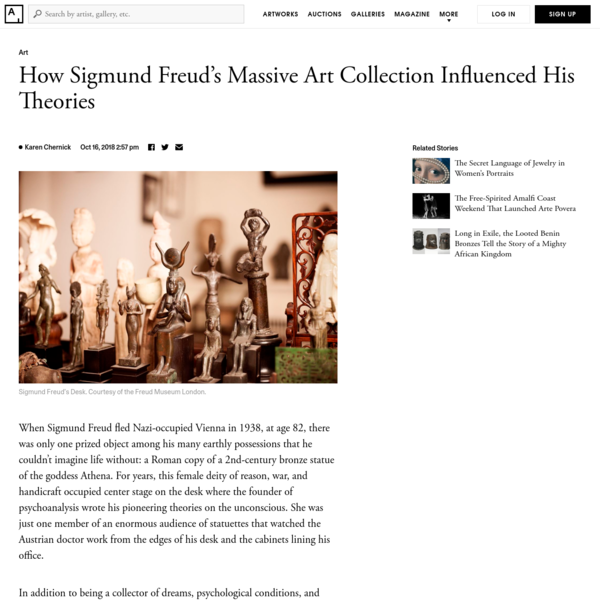 How Sigmund Freud's Massive Art Collection Influenced His Theories