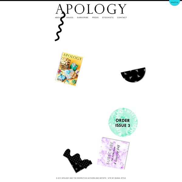 Apology Magazine