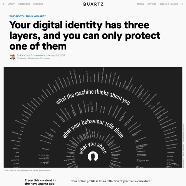 Your digital identity has three layers, and you can only protect one of them