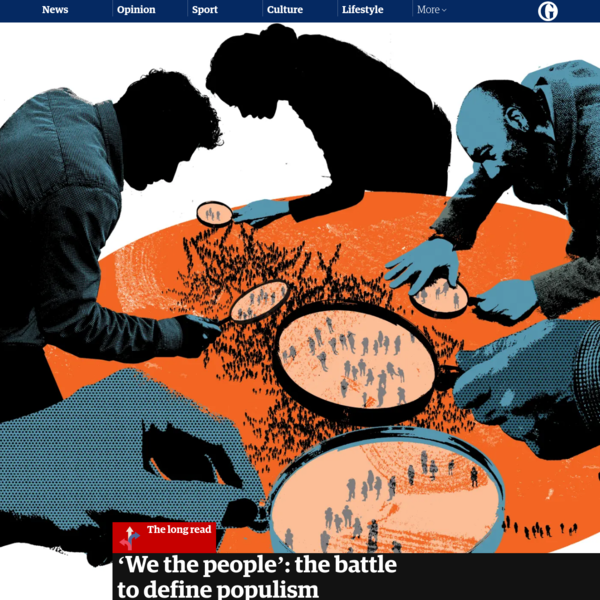 'We the people': the battle to define populism