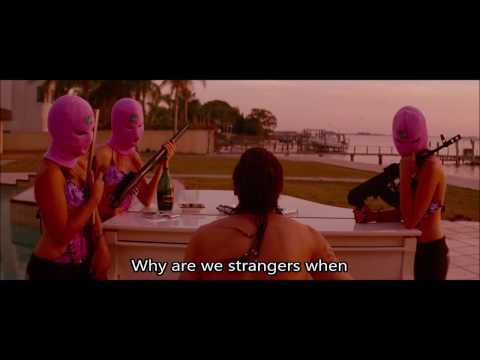 Spring Breakers (2012) Everytime [w/Lyrics]
