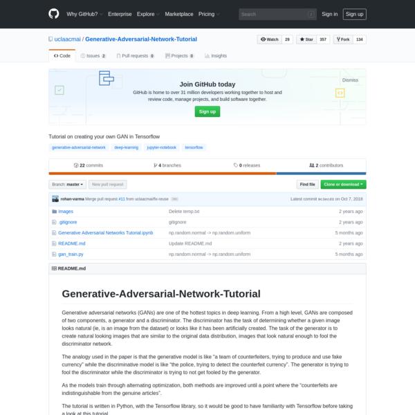 uclaacmai/Generative-Adversarial-Network-Tutorial