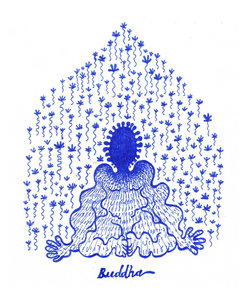 Buddha, by Oğul Öztunç