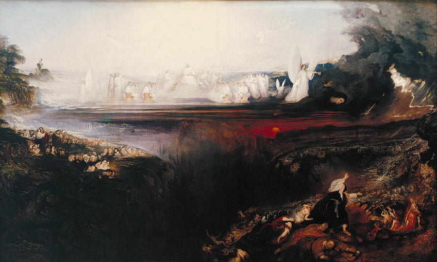 The Last Judgment by John Martin (1854)