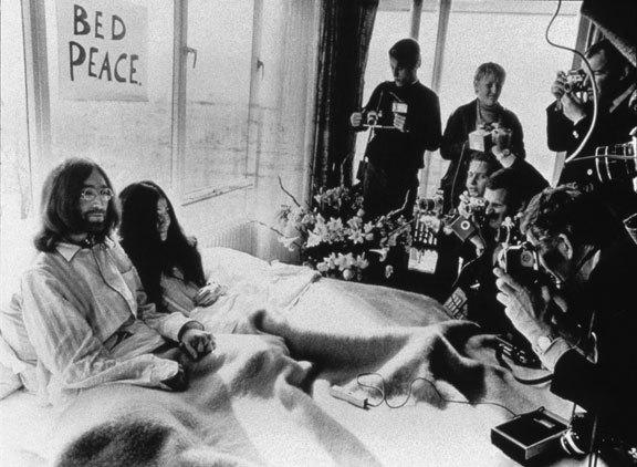 Yoko Ono (USA, JP) and John Lennon (UK, USA)