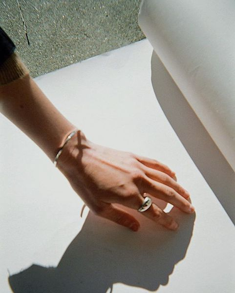 Favorite shot of the Form II Ring and Simplicity cuff by new stockist @lisasaysgah