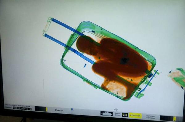 boy smuggled in bag